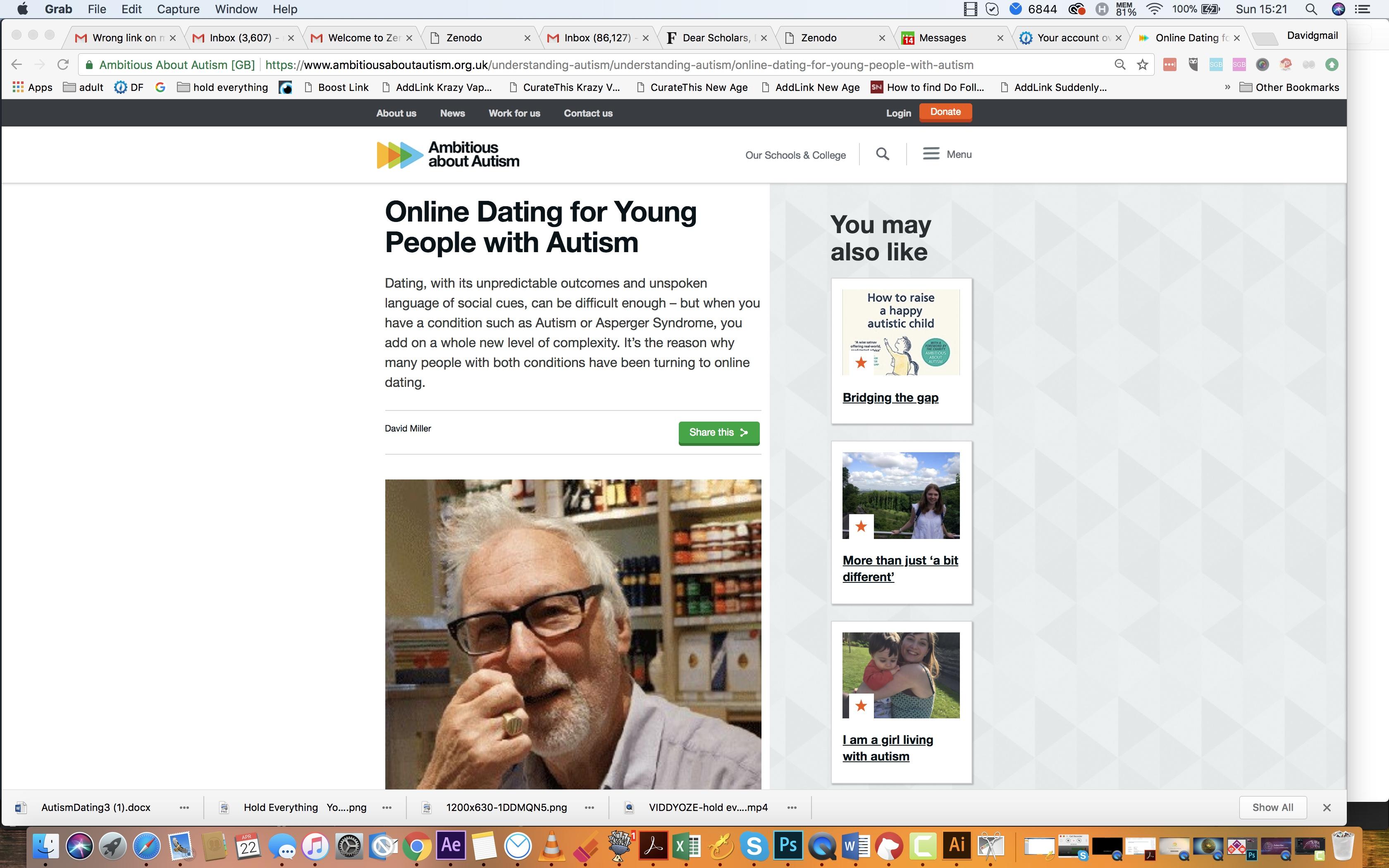 Online dating etter personlighet type